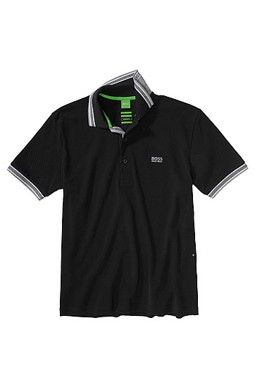 BOSS GREEN POLO PADDY SCHWARZ 001