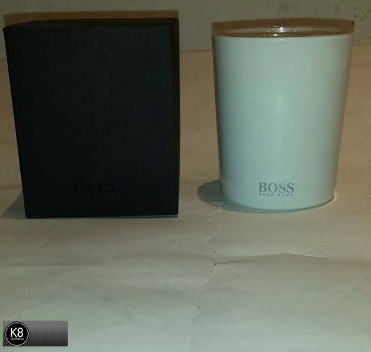 BOSS BLACK CANDLE FARBE WHITE 100