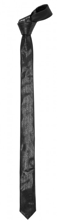 HUGO KRAWATTE TIE 4,5 CM FOIL PRINT FARBE SCHWARZ 001