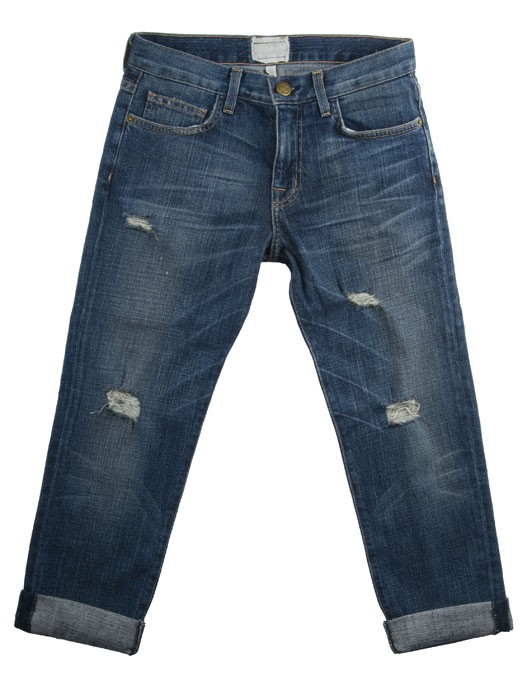 CURRENT/ELLIOTT JEANS THE BOY FRIEND FARBE LOVED DESTROYED