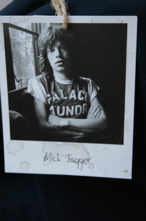 WORN BY T-SHIRT MICK JAGGER FARBE DUNKELBLAU