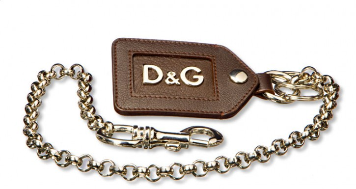 D&G THE TROUSER KEYRING
