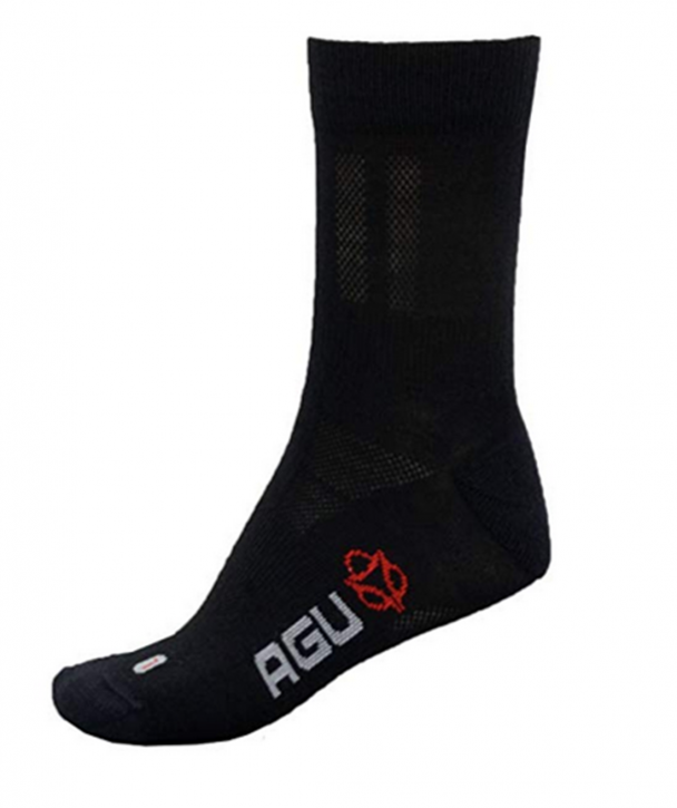 AGU  Merino Winter Radsocken Technical cycling Socks schwarz
