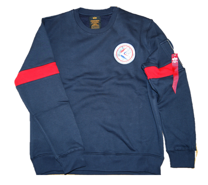 Alpha Industries Apollo 15 Sweater Farbe rep blue 07