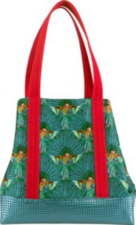 PALMS Damen Shopper Tasche AMAZONAS mit einer zusätzlicher Clutch