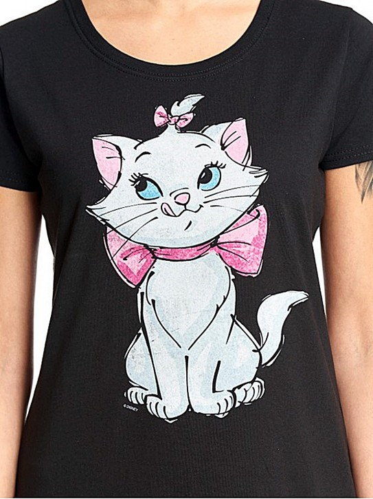 Disney Aristocats Pure Cutie Girl Shirt black