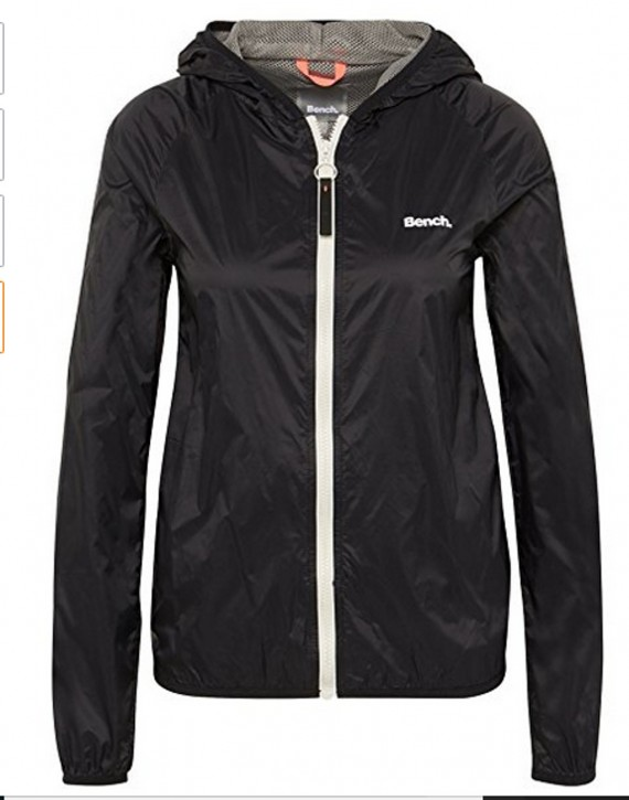 Bench Damen Regenjacke Core Easy Windbreaker schwarz 11179