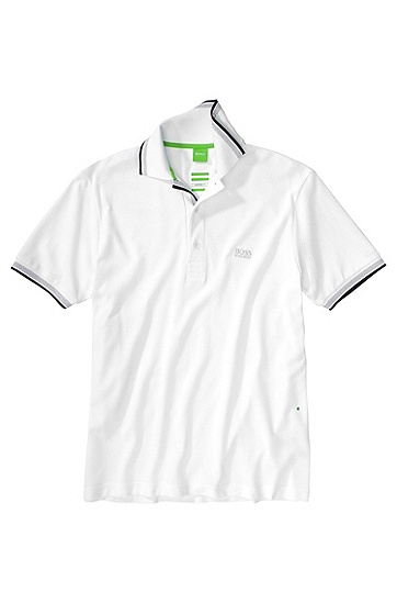 BOSS GREEN POLO PADDY FARBE WEISS 100
