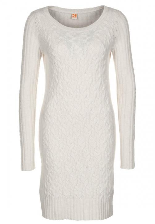 BOSS ORANGE DRESS LALLE FARBE 110 Open White