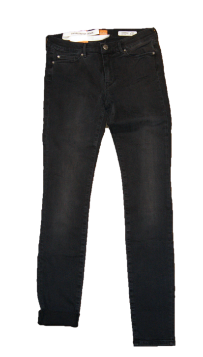 BOSS ORANGE Skinny-Fit Jeans aus elastischem Baumwoll-Mix Orange J10 pure Farbe grau 020