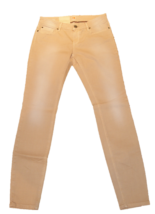BOSS ORANGE JEANS LUNJA1 FARBE APRICOT 281