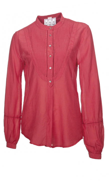 BOSS ORANGE BLUSE CLORIANA FARBE ROT 615