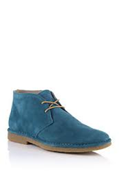BOSS ORANGE SCHUH MIDES FARBE 420 MEDIUM BLUE