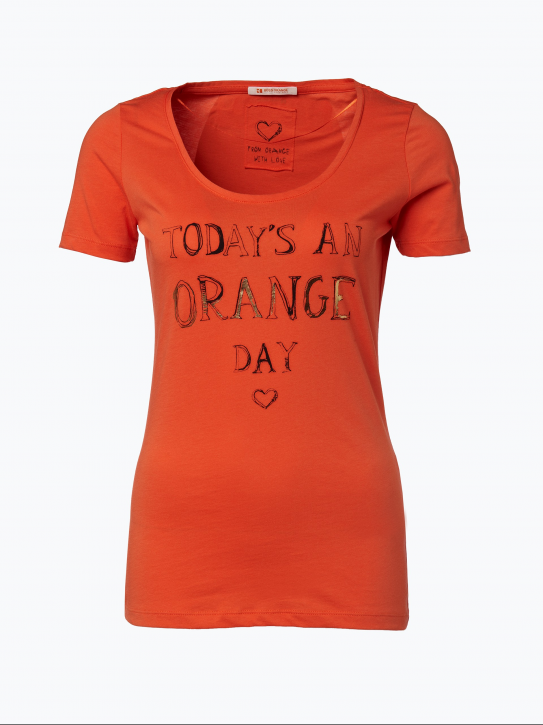 BOSS ORANGE T-SHIRT TALSA FARBE ORANGE 629