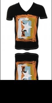 BOSS ORANGE  T-SHIRT TOLSTAY 3 FARBE SCHWARZ 001 GR. XL