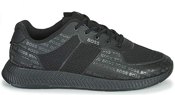 HUGO BOSS Hybrid-Sneakers Titanium_Runn_memllg im Laufschuh-Stil schwarz 001