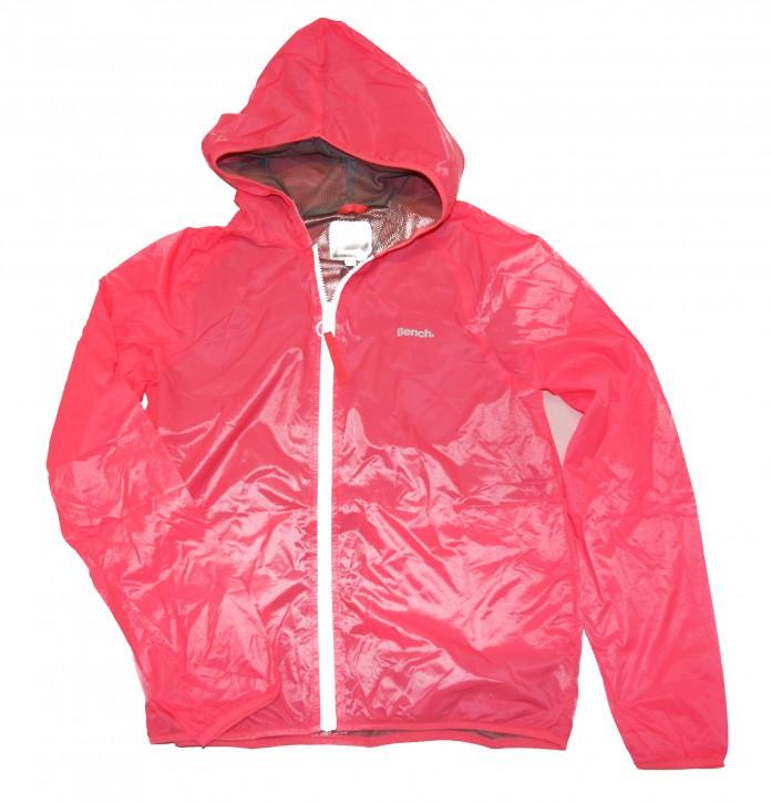 Bench Damen Regenjacke Core Easy Windbreaker pink 11482