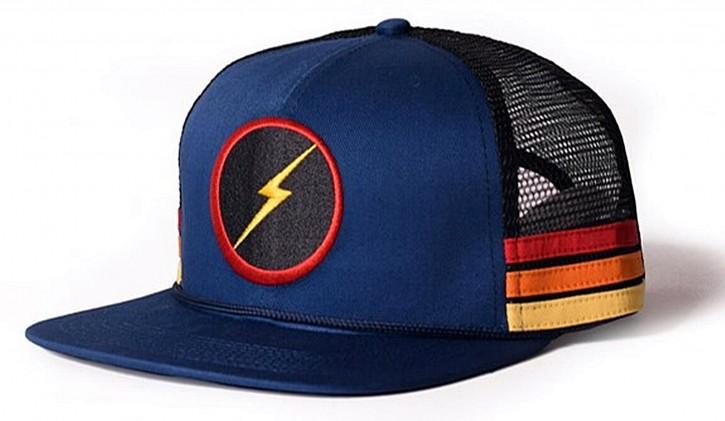 Lightning Bolt Sunset Stripe Hat mit BOLT Logo Ensign Blue-B42
