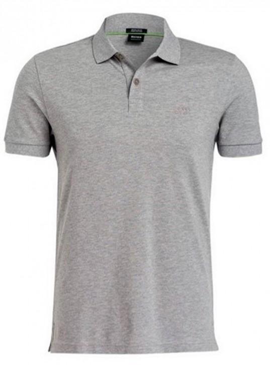 HUGO BOSS Poloshirt PIRO aus Pima-Baumwolle grau 059