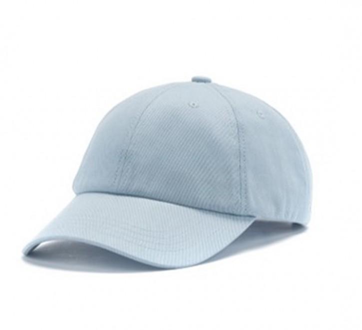HUGO Verstellbare Cap MEN-X 540/3 aus Baumwoll-Twill mit gesticktem Reversed-Logo hellblau