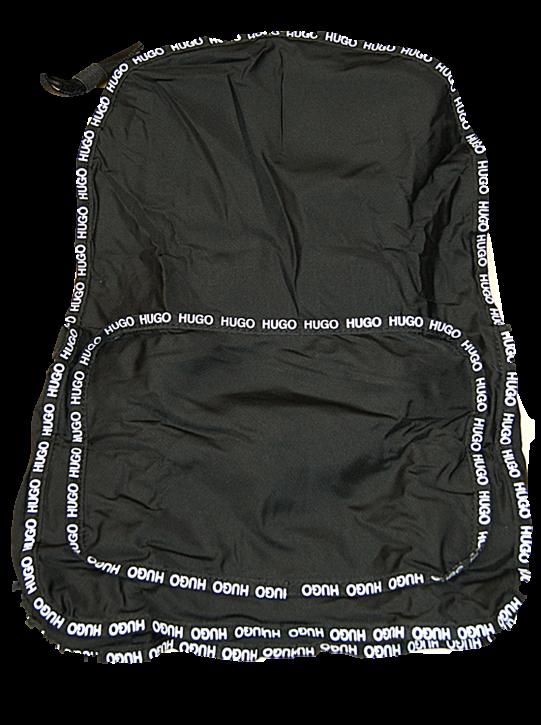 HUGO Herren Reborne_Backpack Rucksack, one size schwarz 001