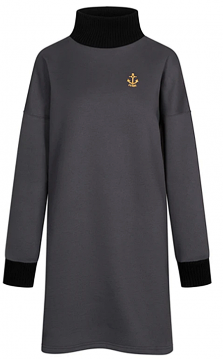DERBE Damen Kleid DR-Golden Anchor 091-phantom