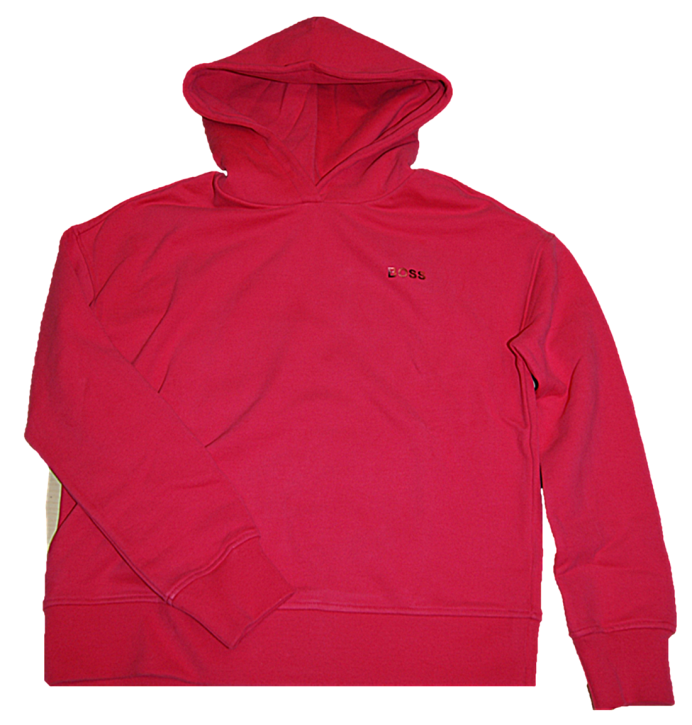 HUGO BOSS Kapuzen-Sweatshirt C_ESHANA aus Baumwoll-Mix mit Logo-Print 662
