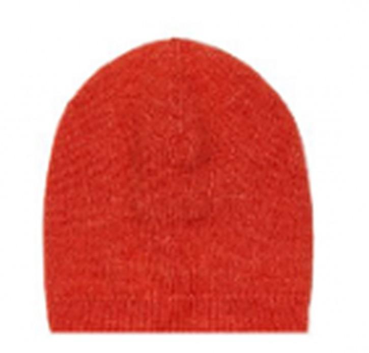 Hugo Boss Mütze C_Zabonne aus einem Wollmix orange 821