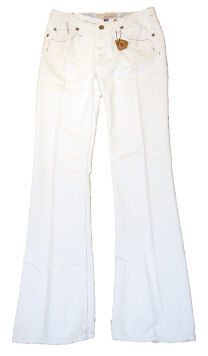 J & COMPANY JEANS CUT 302521 FARBE WEISS