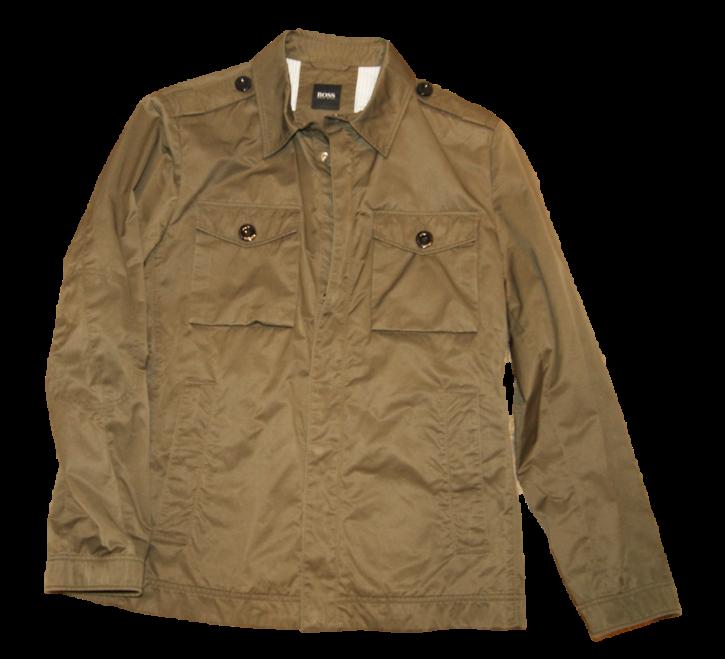 HUGO BOSS Fieldjacket CHELESTE-W Regular-Fit Jacke aus Nylon Farbe oliv 307