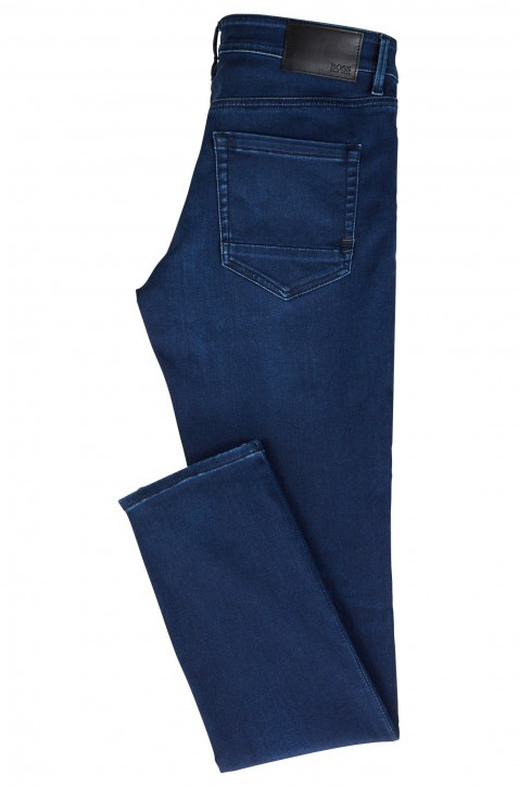 BOSS Skinny-Fit Jeans CHARLESTON BC MIXED aus Super-Stretch Denim Farbe blau 429