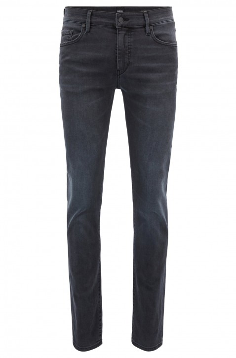 BOSS Skinny-Fit Jeans Charleston BC aus Super-Stretch-Denim farbe grau 020