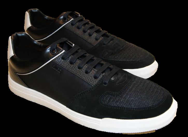 BOSS Sneakers Cosmopool_Tenn_mx1 mit Mesh-Einsatz schwarz 006