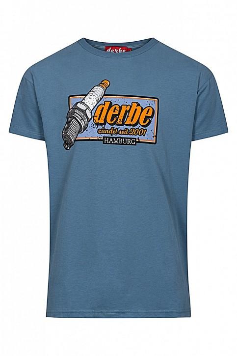DERBE ZÜNDKERZE Herren T-Shirt  blue shadow
