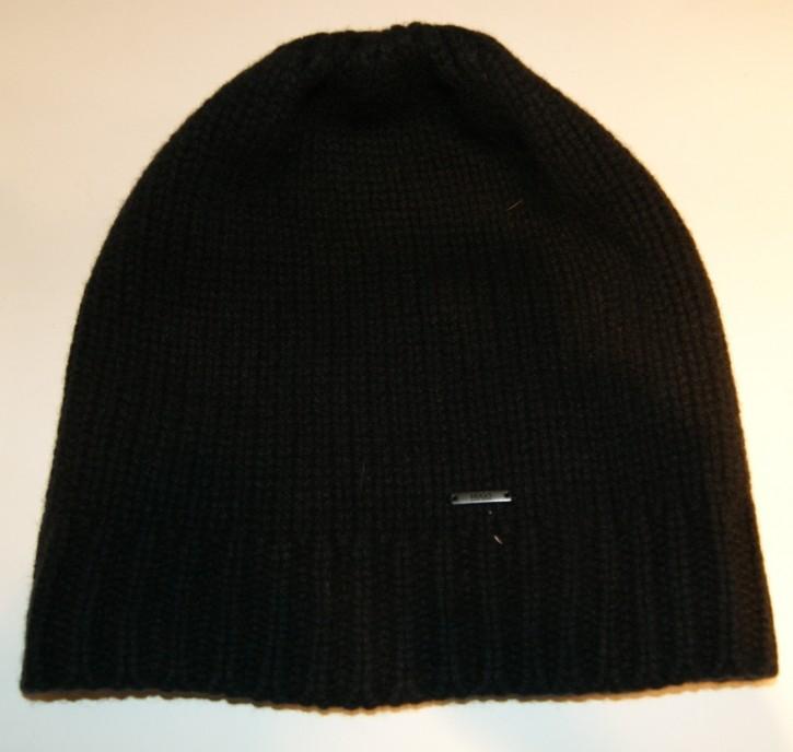 Hugo Strickmütze MEN X 349 schwarz 001