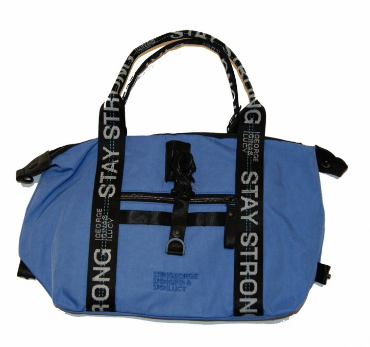 GEORGE GINA & LUCY Schultertasche Freerange Nylon roots blue strong 604