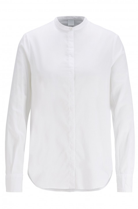 BOSS Relaxed-Fit Bluse EFELIZE _17 aus Baumwolle weiss 100