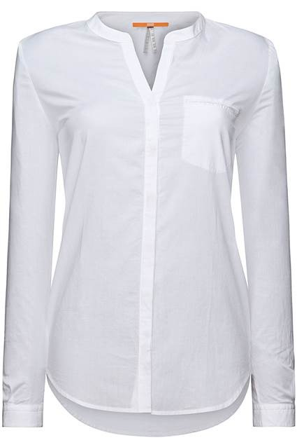 BOSS ORANGE BLUSE EFELIZE_6 FARBE WEISS 100