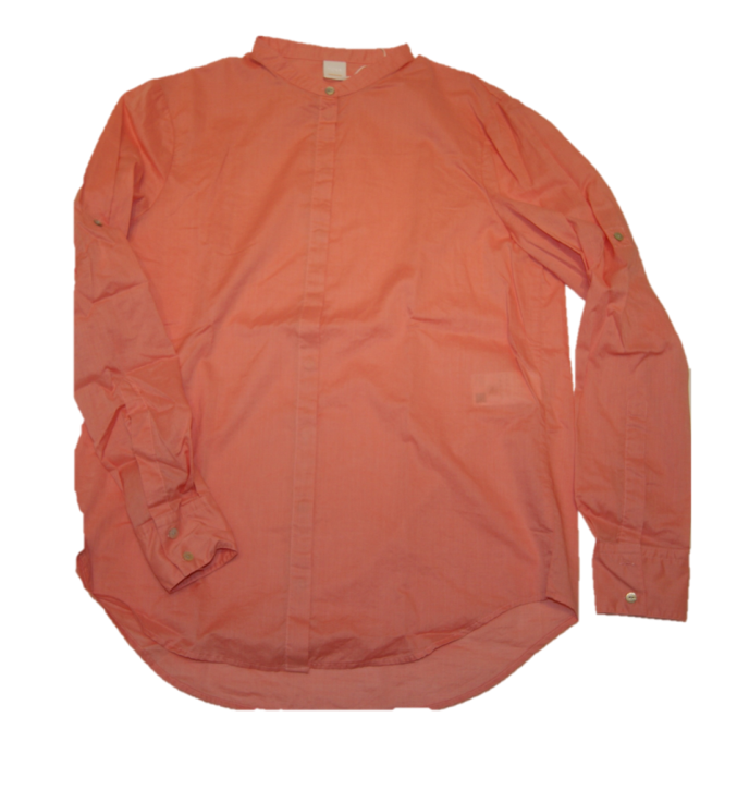 BOSS Relaxed-Fit Bluse EFELIZE_17 aus Baumwoll-Mix hell-orange 835
