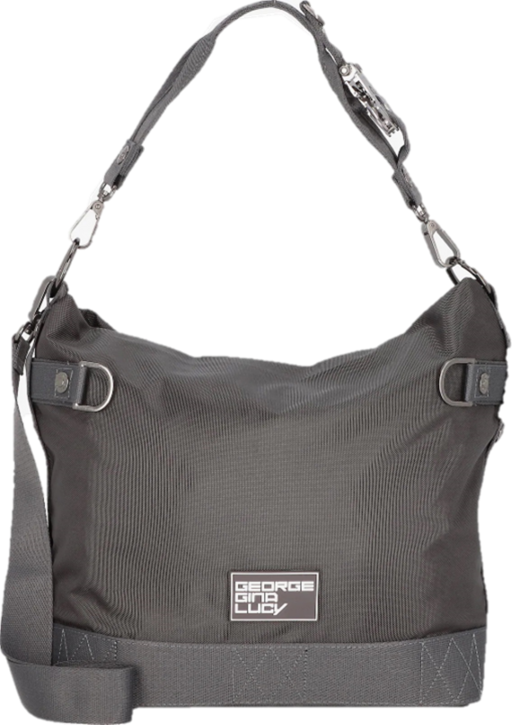 George Gina & Lucy Beuteltasche 100 Peaches Recycled Polyester grey 800