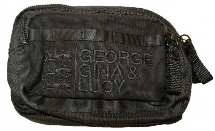 George Gina & Lucy Luv Letter Mini Bag Umhängetasche - Gürteltasche Farbe  schwarz /blackjack 900