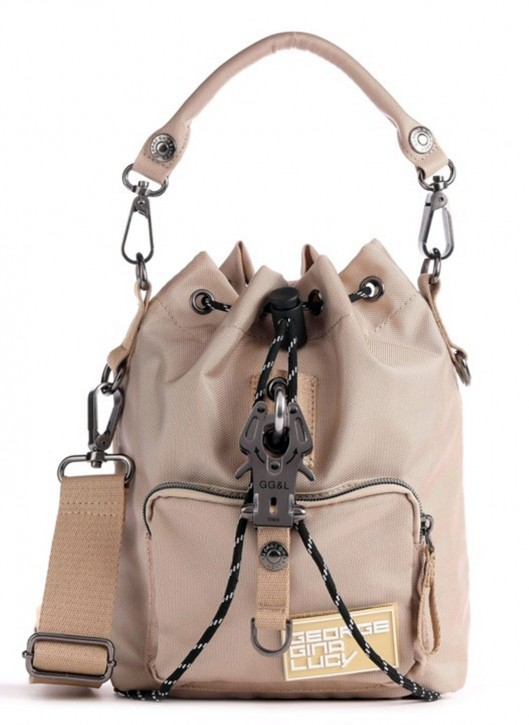 George Gina & Lucy Beuteltasche SACXY aus 100 % recycled Polyester beige 200