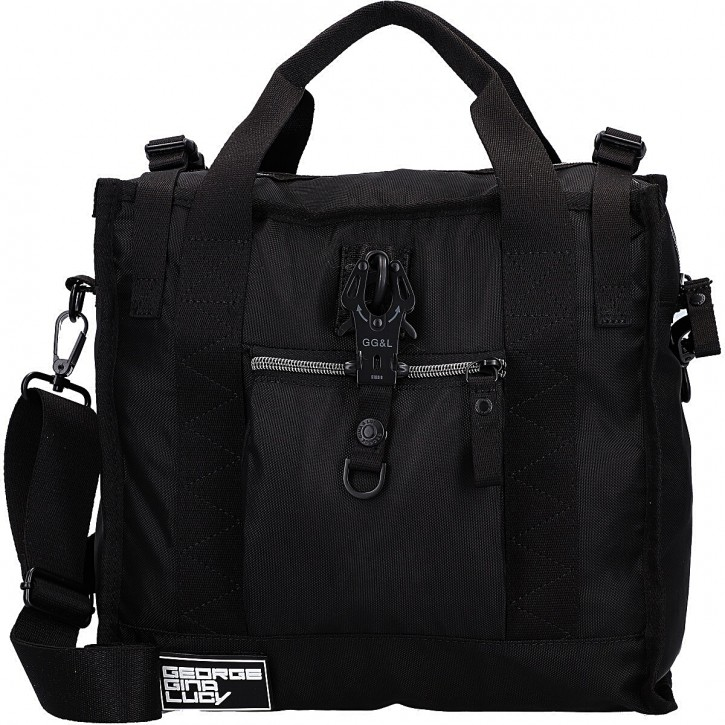 George Gina & Lucy Schultertasche Show Ping 100% Recycled Polyester schwarz 900