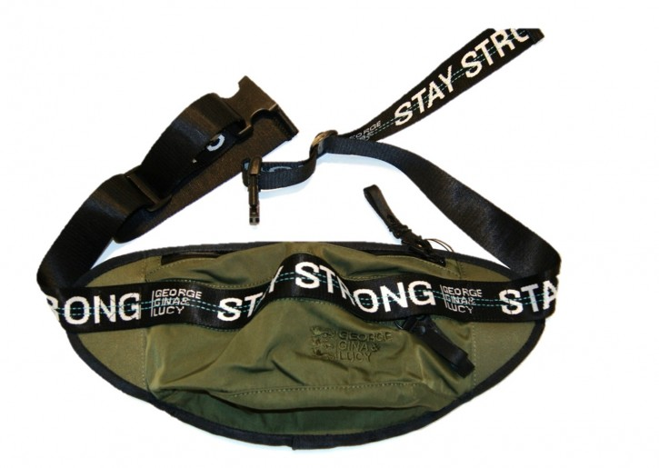 GEORGE GINA & LUCY Hüft/SchulterTasche THE ENERGIZER Farbe olive strong 704