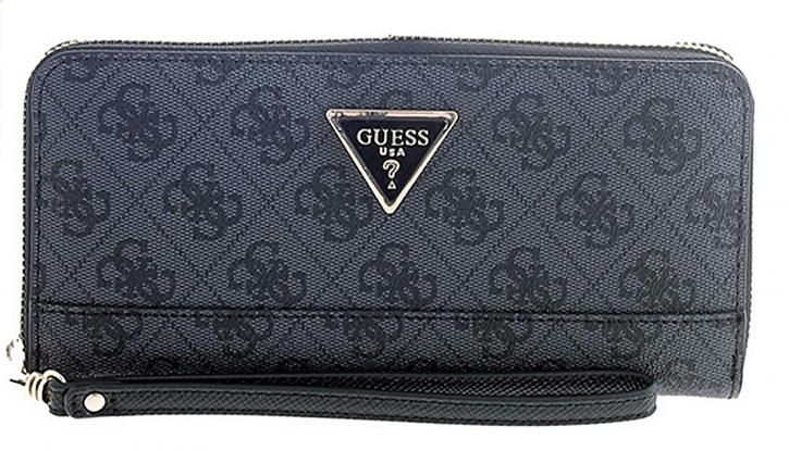 Guess Damen Geldbörse Cordelia Logo Guess Farbe grau