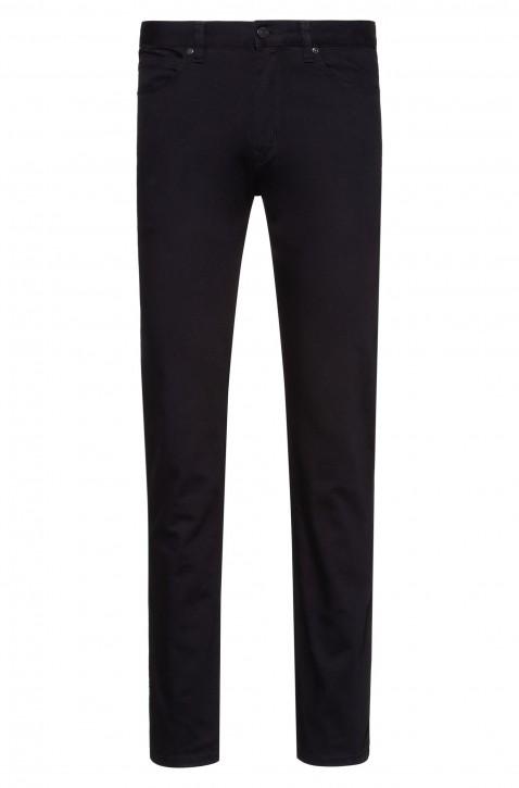 HUGO Slim-Fit Jeans HUGO 708 aus speziell gewaschenem Stretch-Denim schwarz 001
