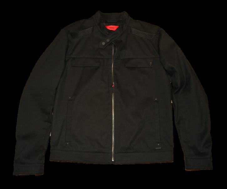 HUGO Denim Biker Jacke Bapinu Farbe schwarz 001