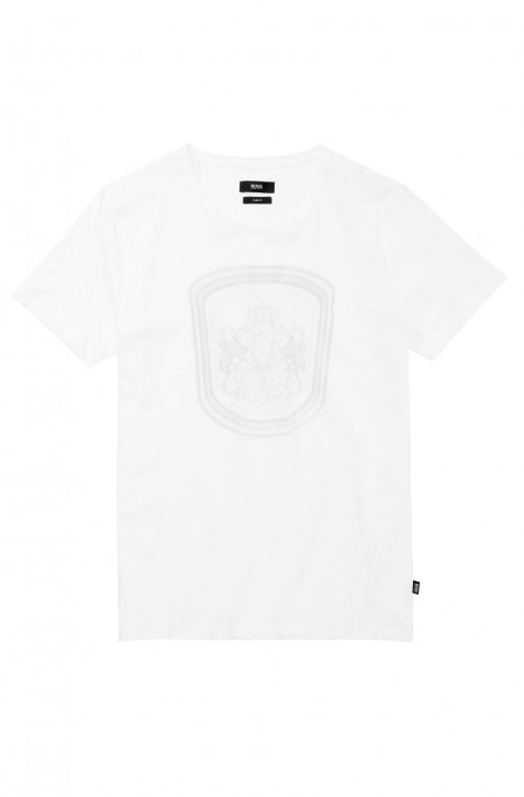 BOSS BLACK T-SHIRT LECCO 109 FARBE WEISS 100