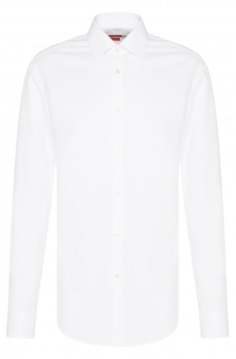 HUGO Slim-Fit Hemd C-Jenno aus Baumwolle weiss 100