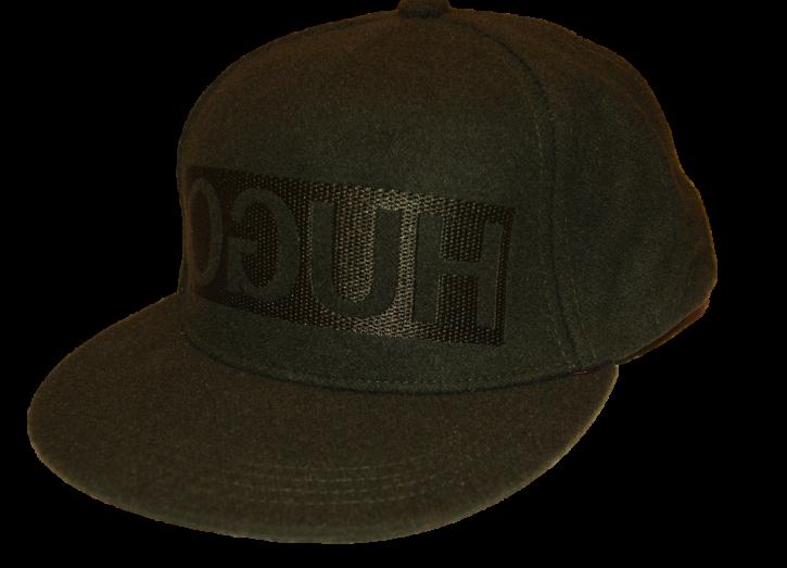 HUGO Baseball Cap Men-x 536/1 aus Filz mit spiegelverkehrtem Logo Farbe schwarz 001